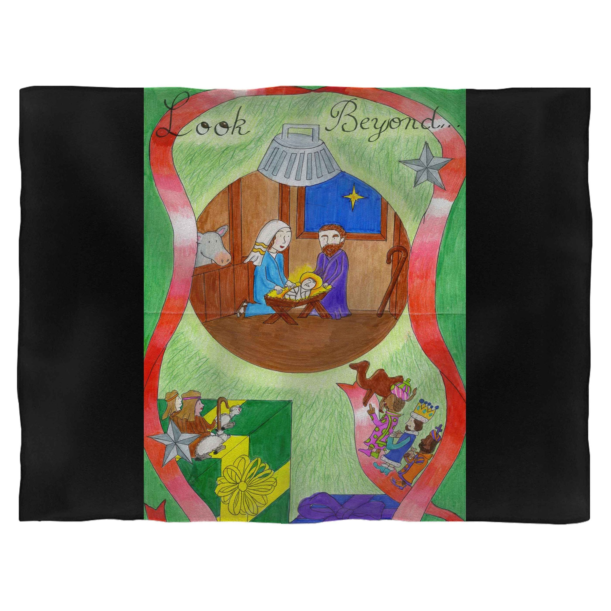 Keep Christ In Christmas 1 Fleece Blanket