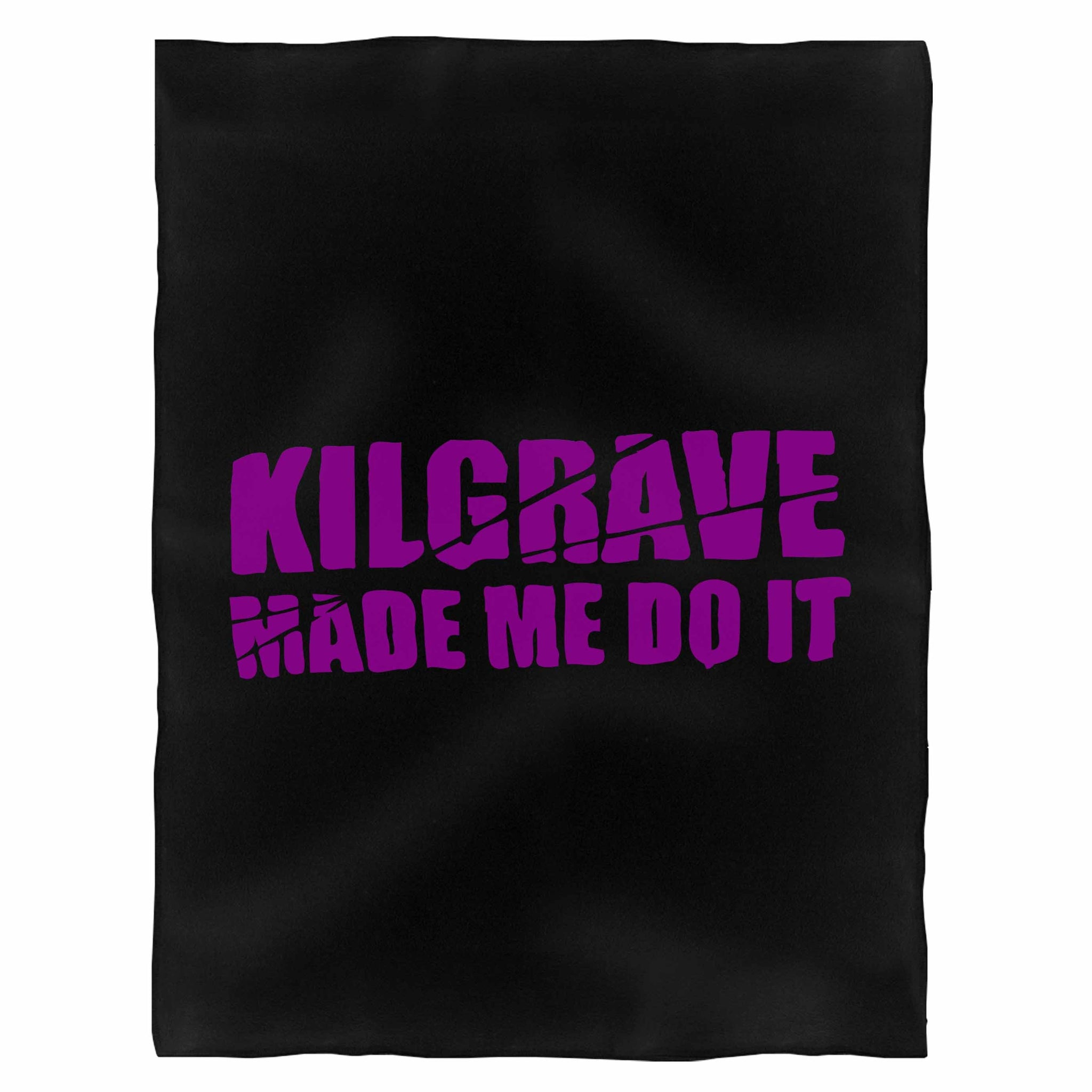 Kilgrave Made Me Do It Jessica Jones Inspired Fleece Blanket