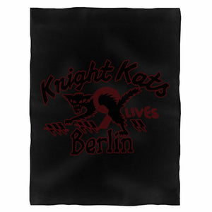 Knight Kats Motorcycle Club Fleece Blanket