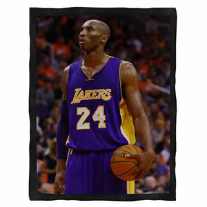 Kobe Bryant Los Angeles Fleece Blanket