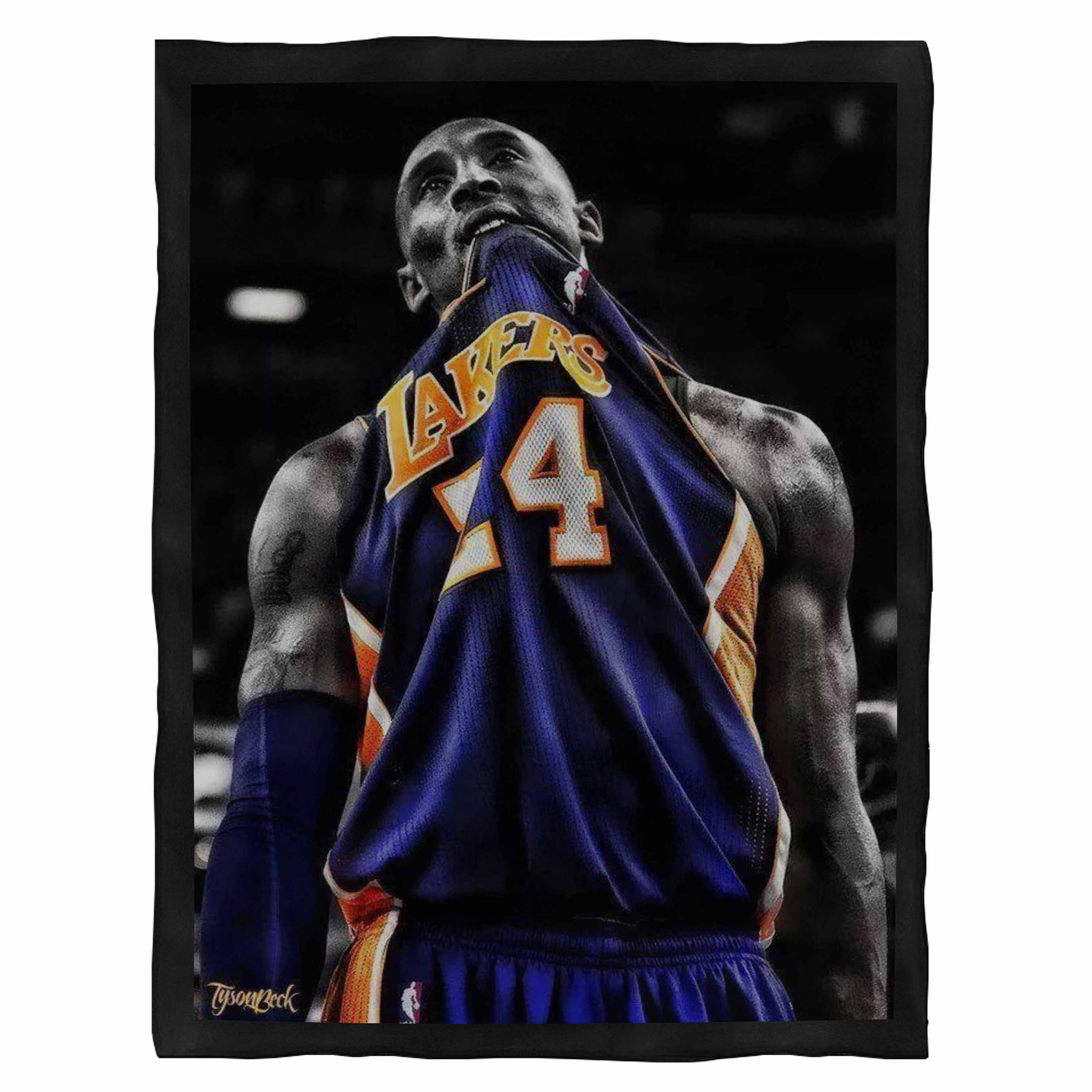 Kobe Bryant Nba 1 Fleece Blanket