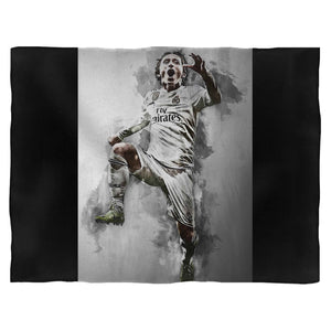Luka Modric Painting Art Fleece Blanket
