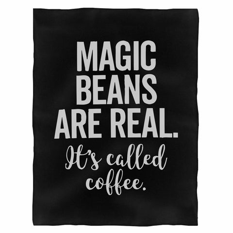 Magic Beans Are Real It'S Called Coffee Indoor Wall Tapestry