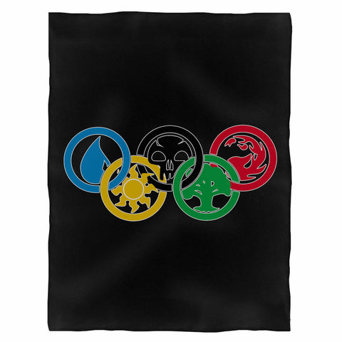 Magic The Gathering Colours Of Magic Olympics Indoor Wall Tapestry