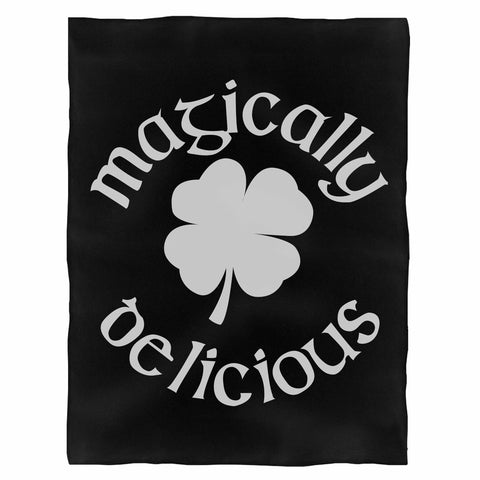 Magically Delicious Funny St Patrick'S Day Shamrock Indoor Wall Tapestry