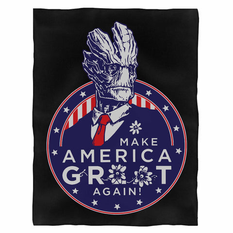 Make America Groot Again Baby Groot Guardian Of The Galaxy Presiden 2020 Indoor Wall Tapestry