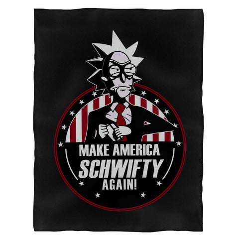 Make America Schwifty Again Indoor Wall Tapestry