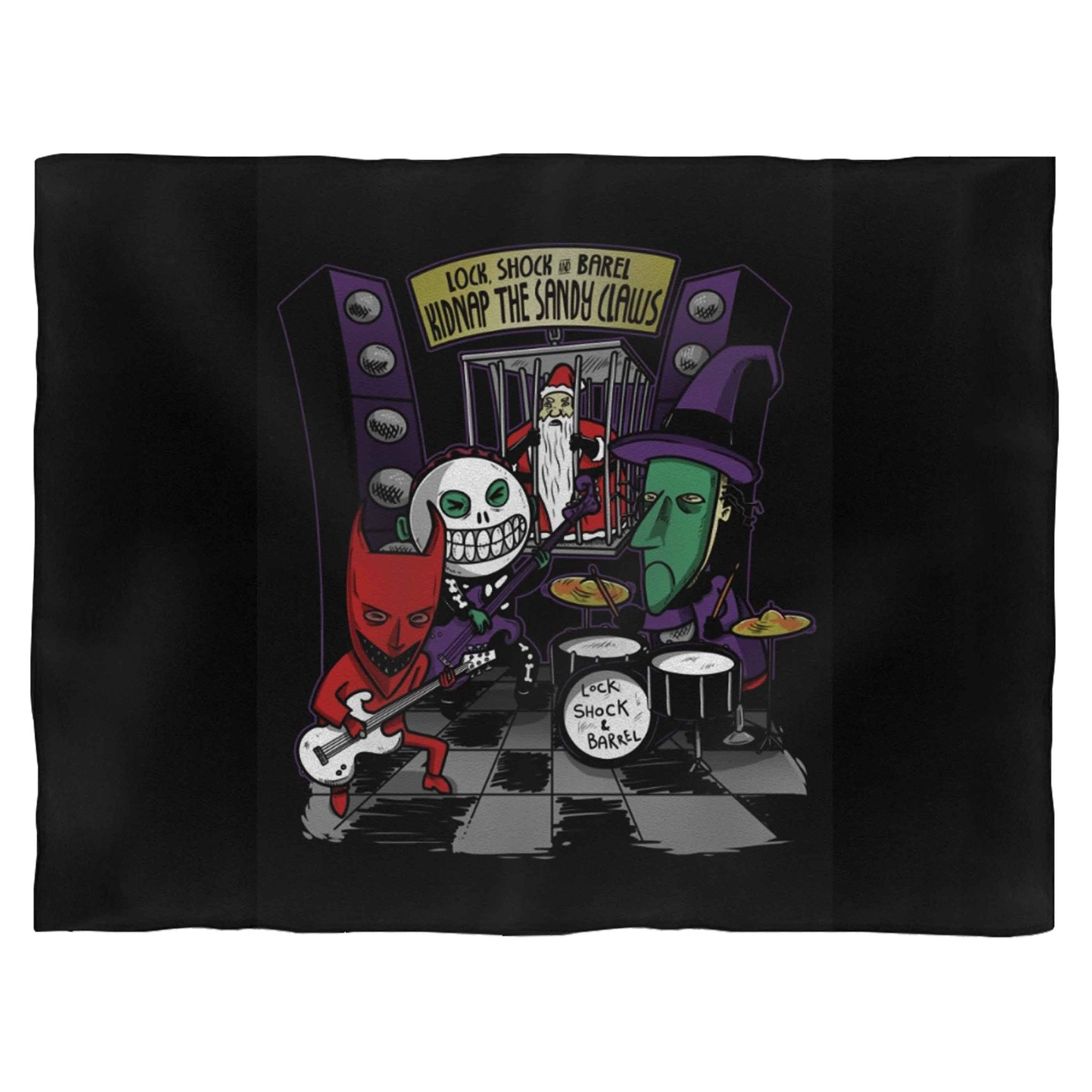 Party Kidnap The Sandy Claws Fleece Blanket