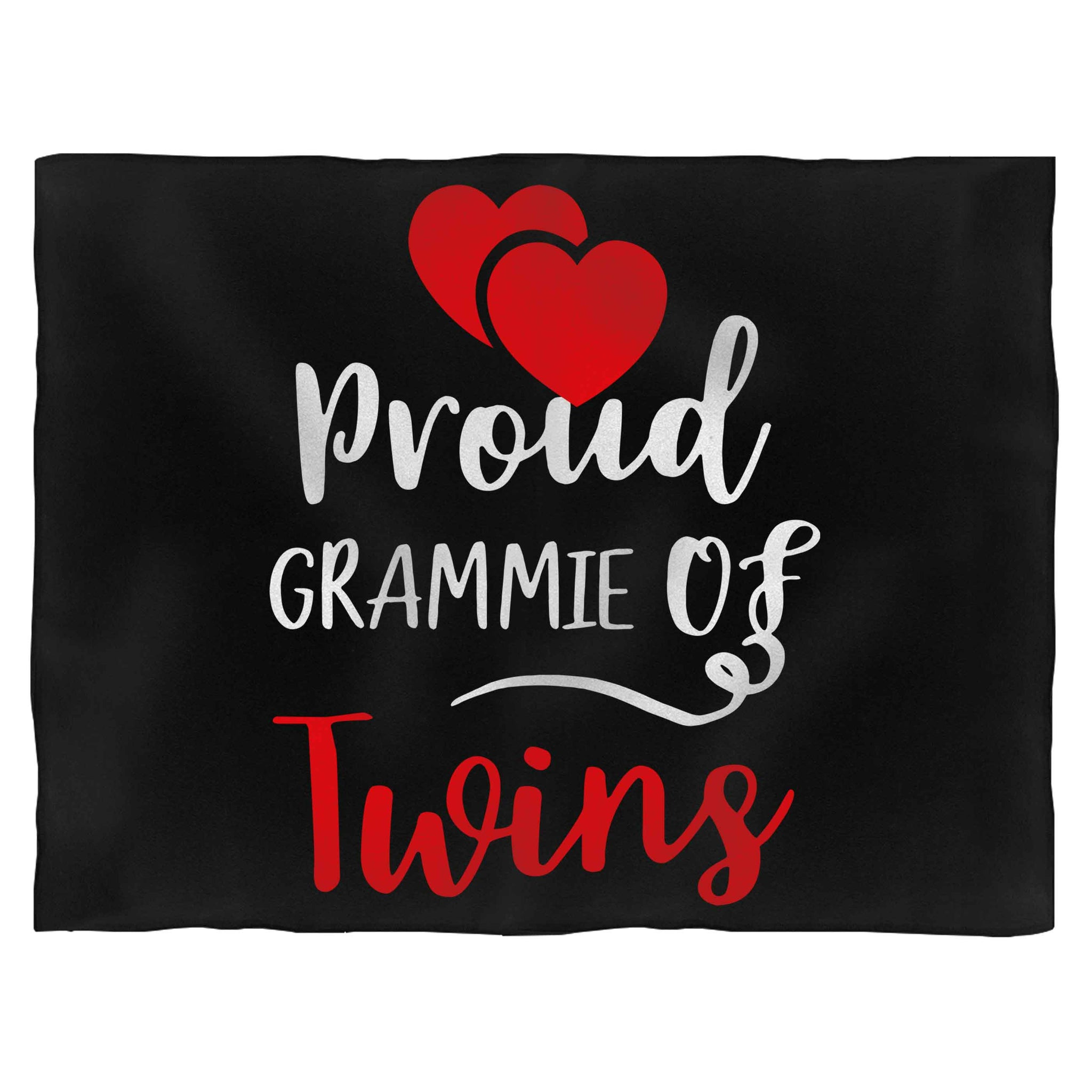 Proud Grammie Of Twins Fleece Blanket