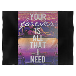 Sleeping With Sirens All That I Need Fleece Blanket