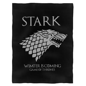 Stark Winter Is Coming Game Of Thrones Fleece Blanket