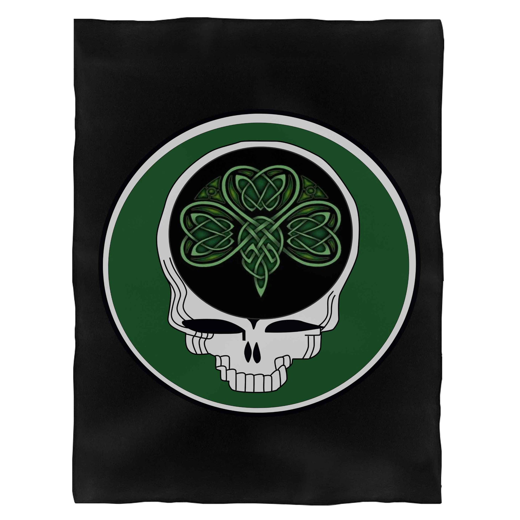 Steal Your Shamrock Celtic Knot Grateful Dead St Patrick'S Day Lot Party Fleece Blanket
