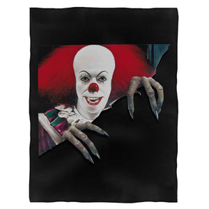 Stephen King'S I T Pennywise Horror Movie Fleece Blanket