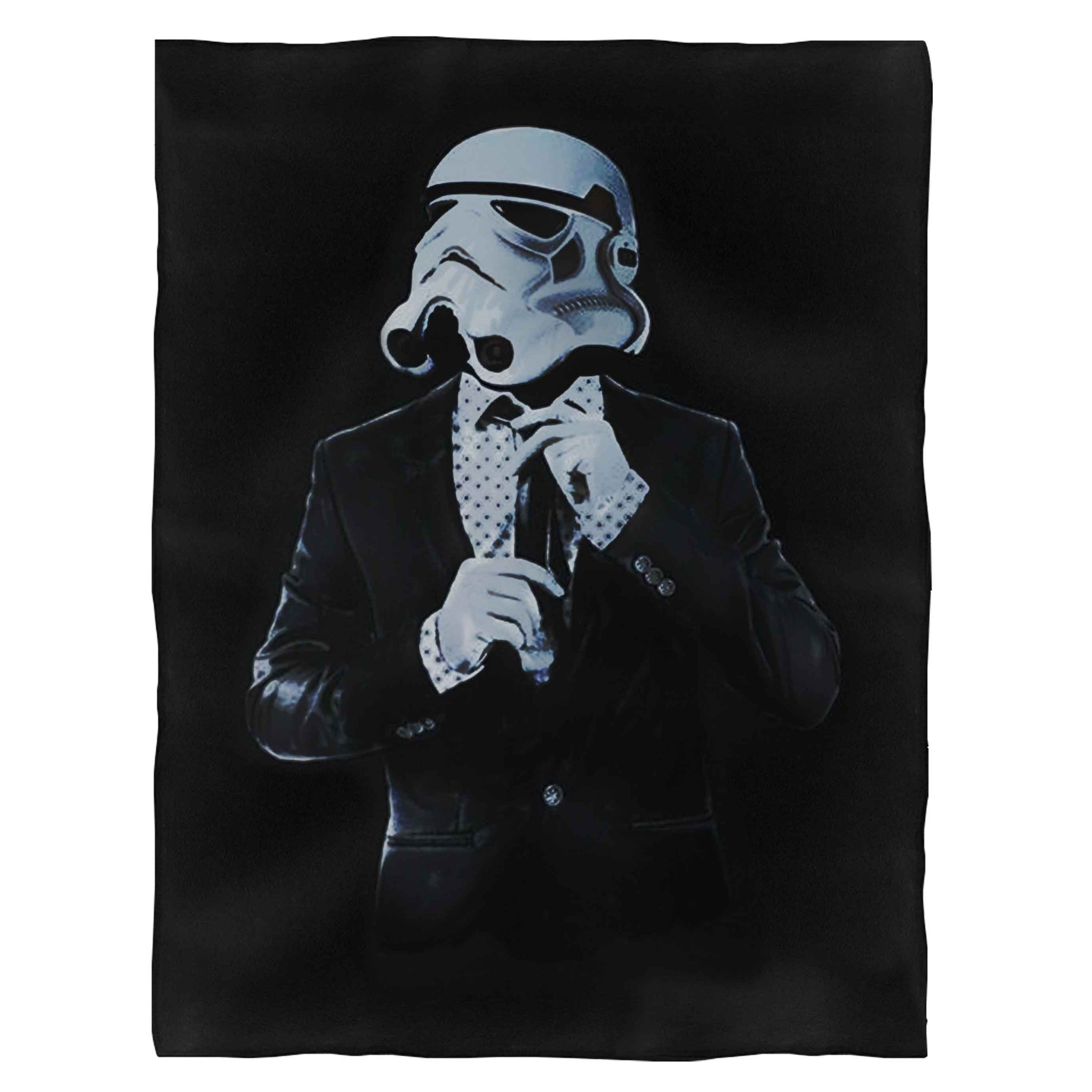 Stormtrooper Business Star Wars Fleece Blanket