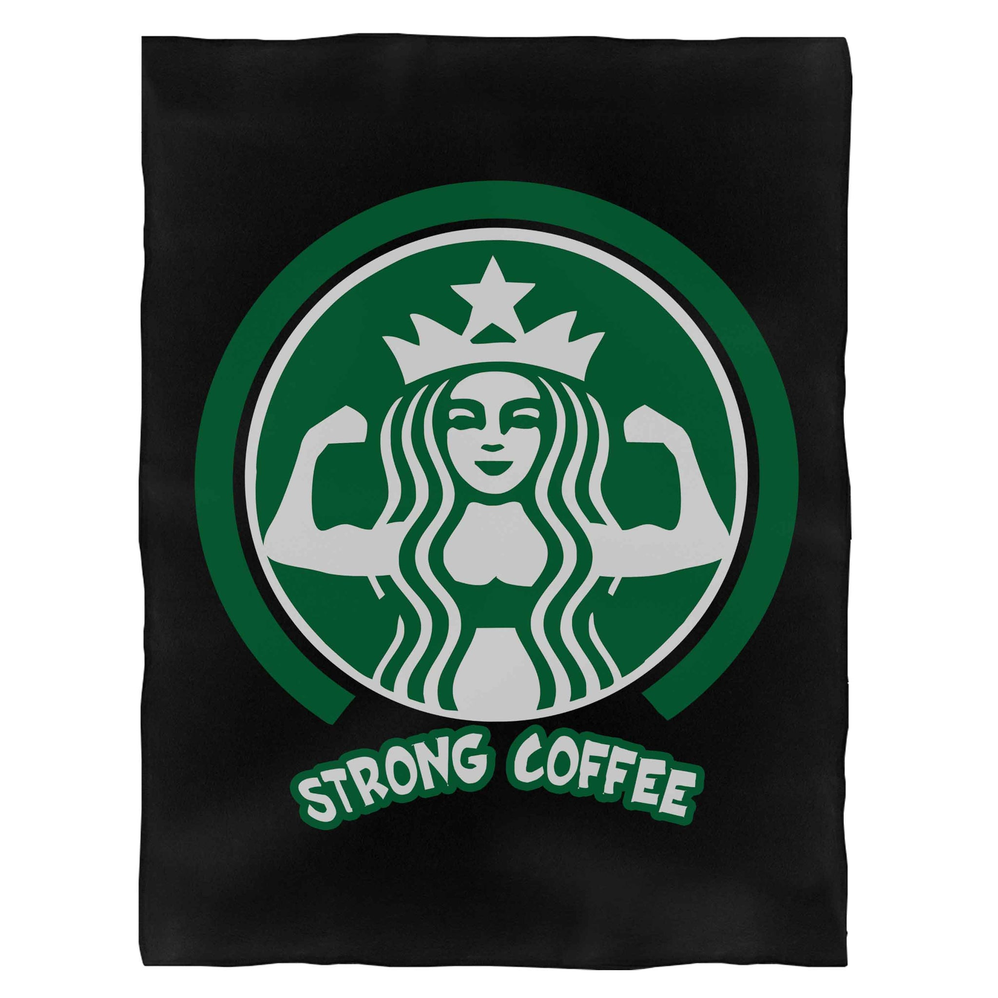 Strongbuck Coffee Fleece Blanket
