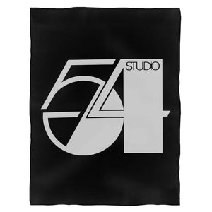 Studio 54 Logo Classic Disco Dance Fleece Blanket