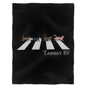 Tabbey Rd Fleece Blanket