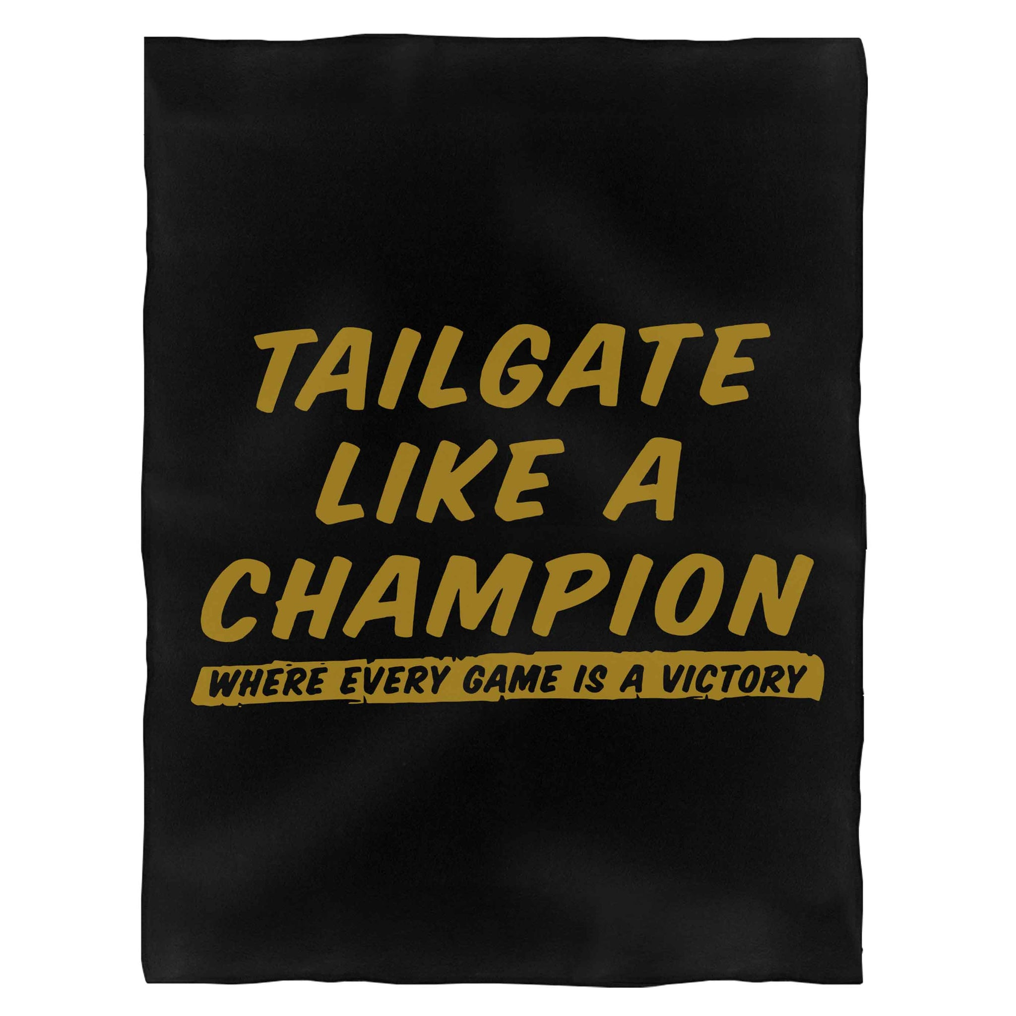 Tailgate Like A Champion Fleece Blanket