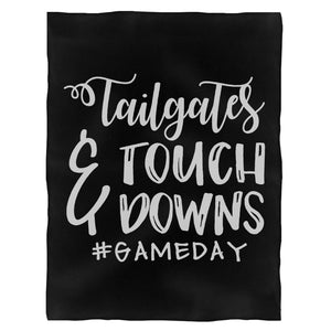 Tailgate Touchdown Football Gameday Fleece Blanket