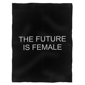 The Future Is Female Empowering Women Women Empowerment Fleece Blanket
