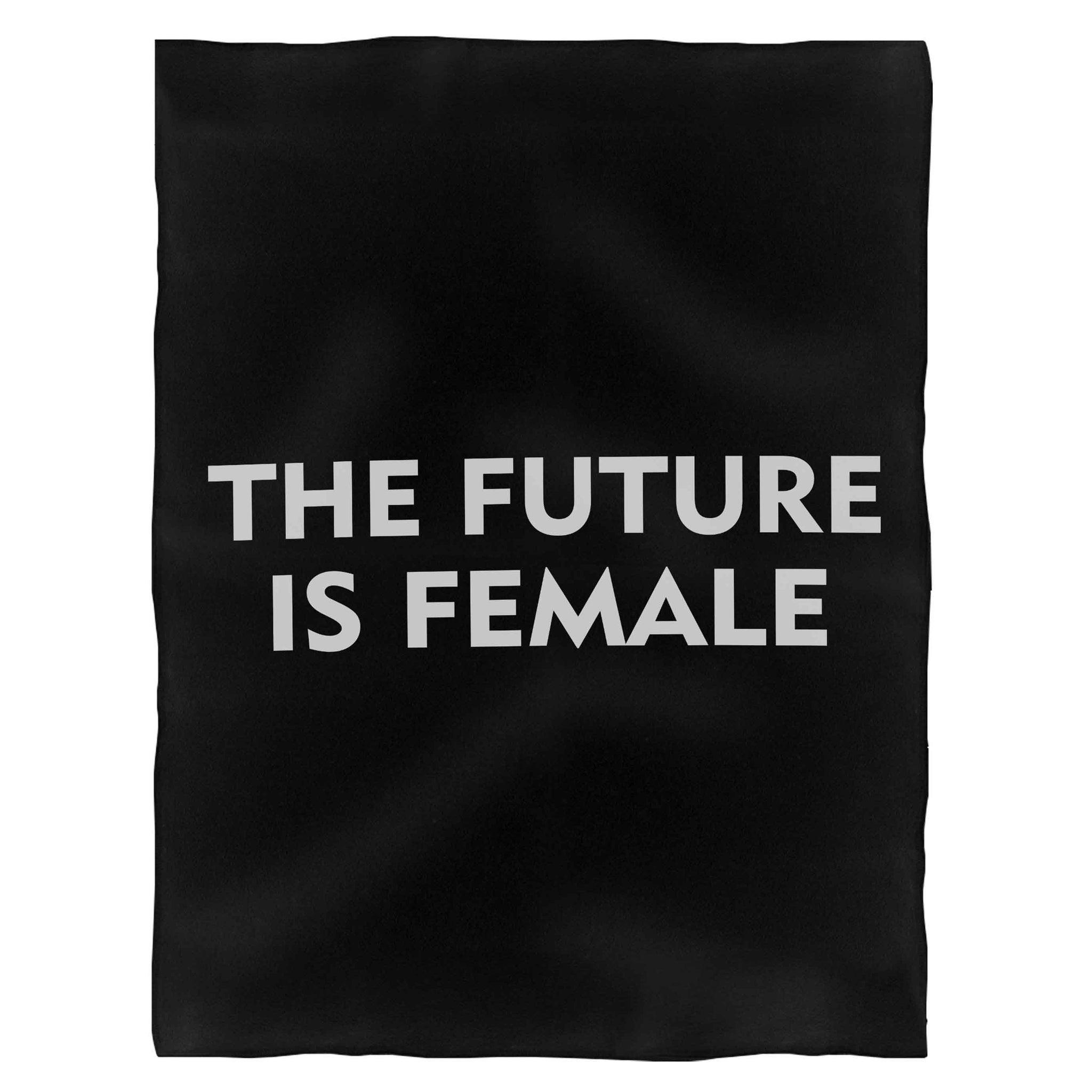 The Future Is Female Fleece Blanket