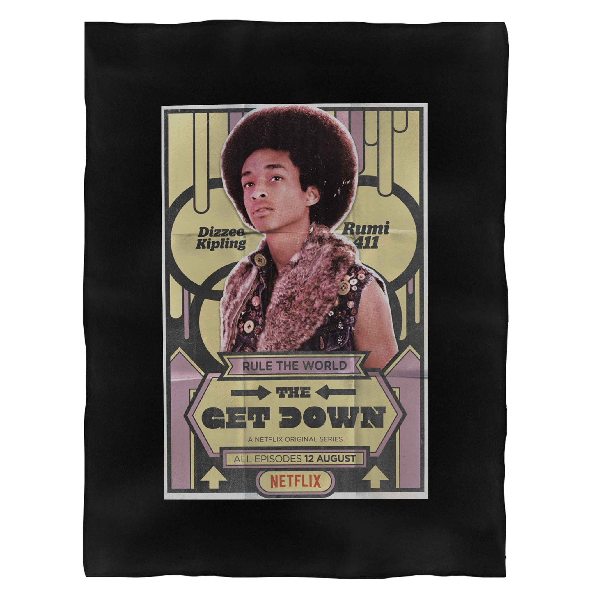 The Get Down Jaden Smith Fleece Blanket