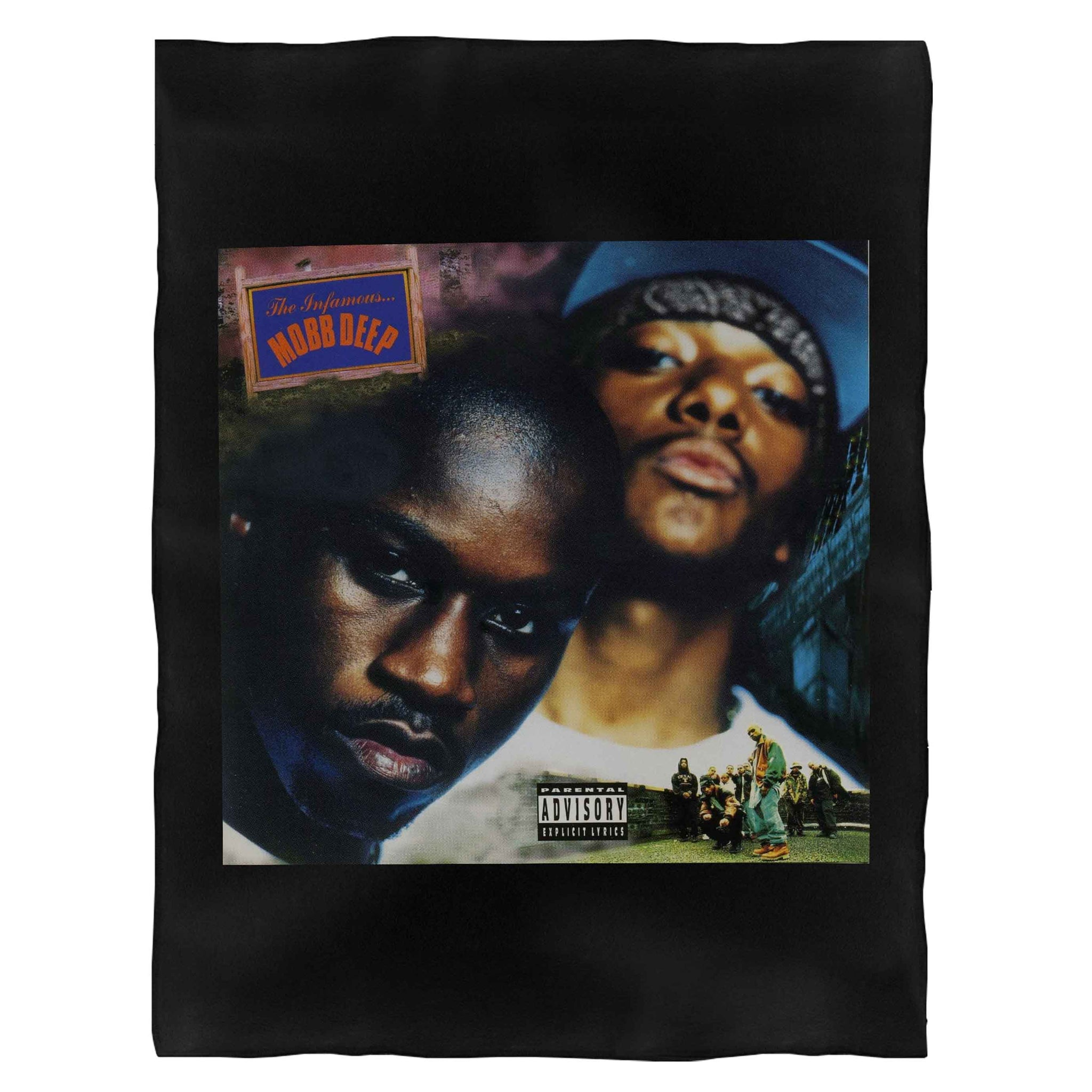The Infamous Mobb Deep Album Cover Fleece Blanket