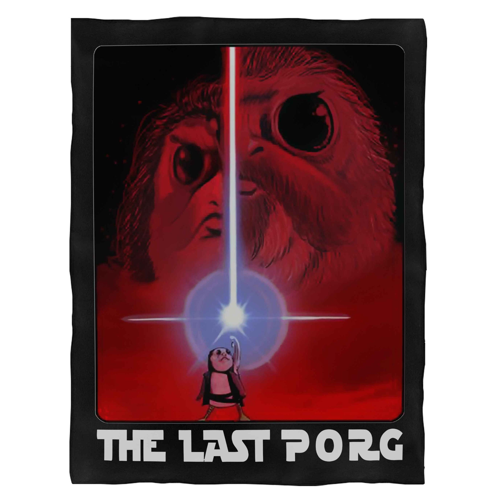 The Last Porg The Last Jedi Fleece Blanket