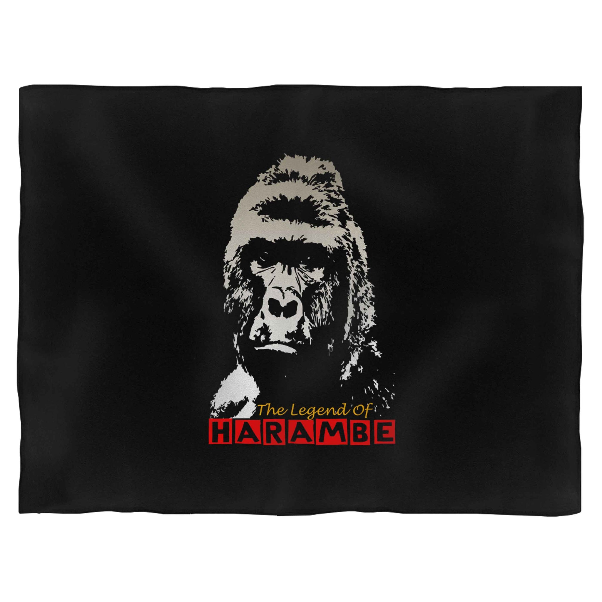 The Legend Of Harambe Fleece Blanket