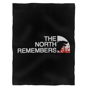 The North Remembers A Game Of Thrones Got Stark Wolf Fleece Blanket