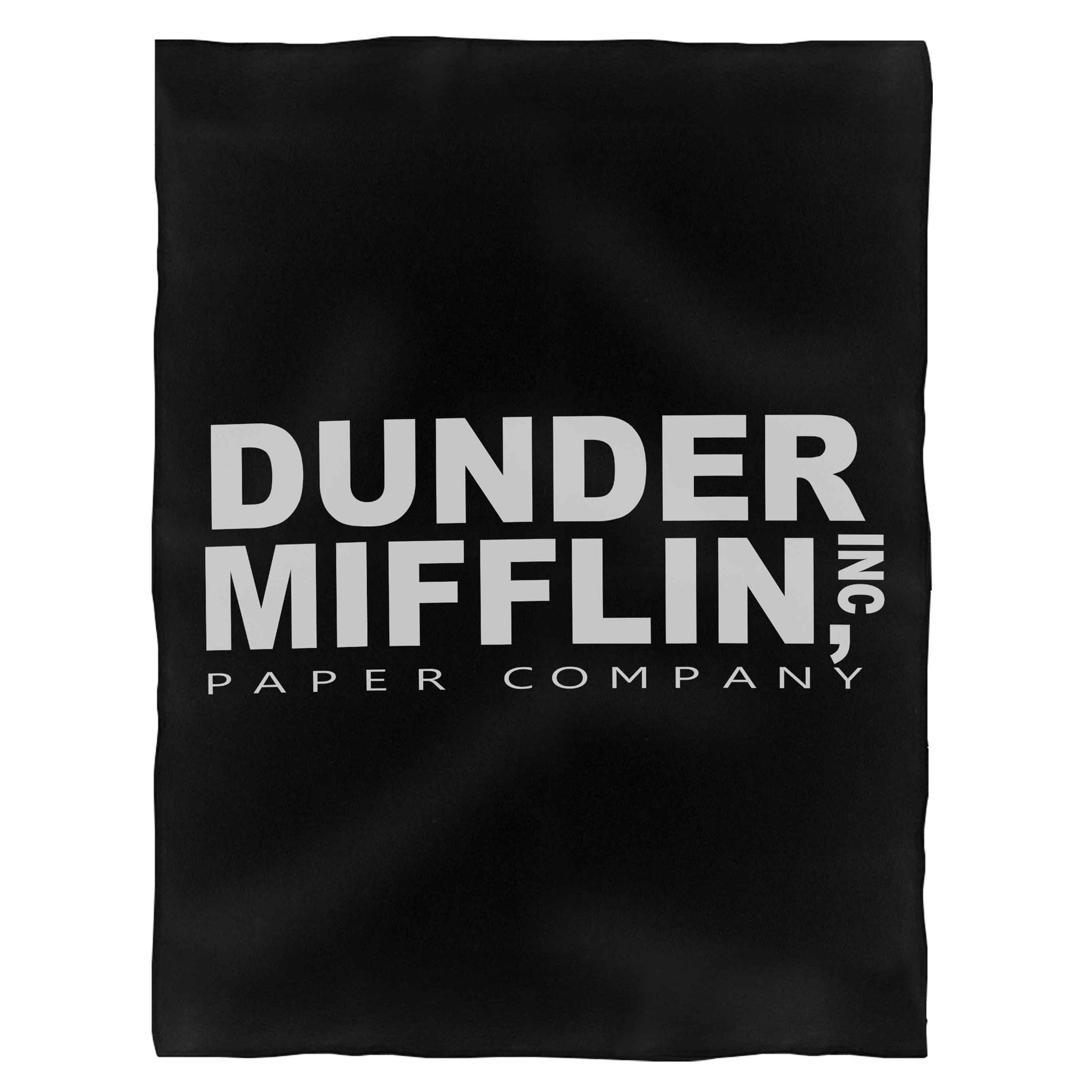 The Office Dunder Mifflin Inc Corporation Incorporated Paper Company Fleece Blanket