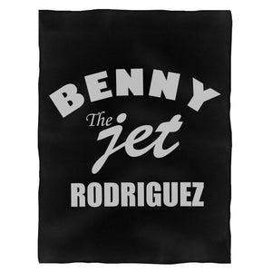 The Sandlot Benny The Jet Rodriguez Great Bambino You'Re Your Killin Killing Me Fleece Blanket