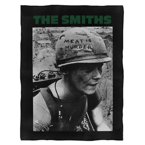 The Smiths Meat Is Murder Morrissey Fleece Blanket