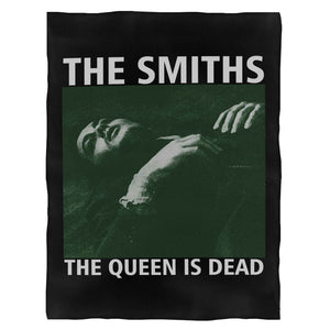 The Smiths The Queen Is Dead Morrissey Fleece Blanket