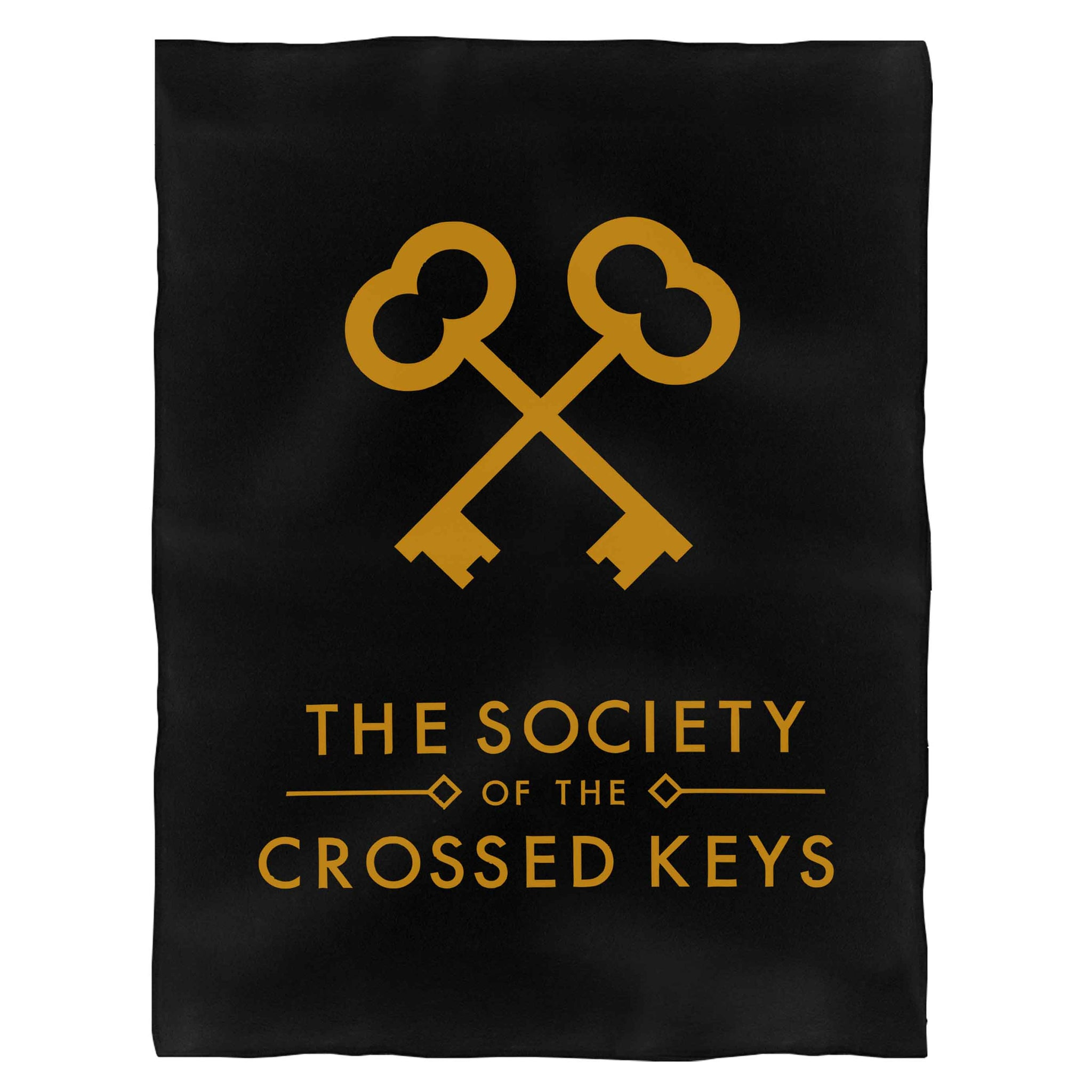 The Society Of The Crossed Keys Fleece Blanket