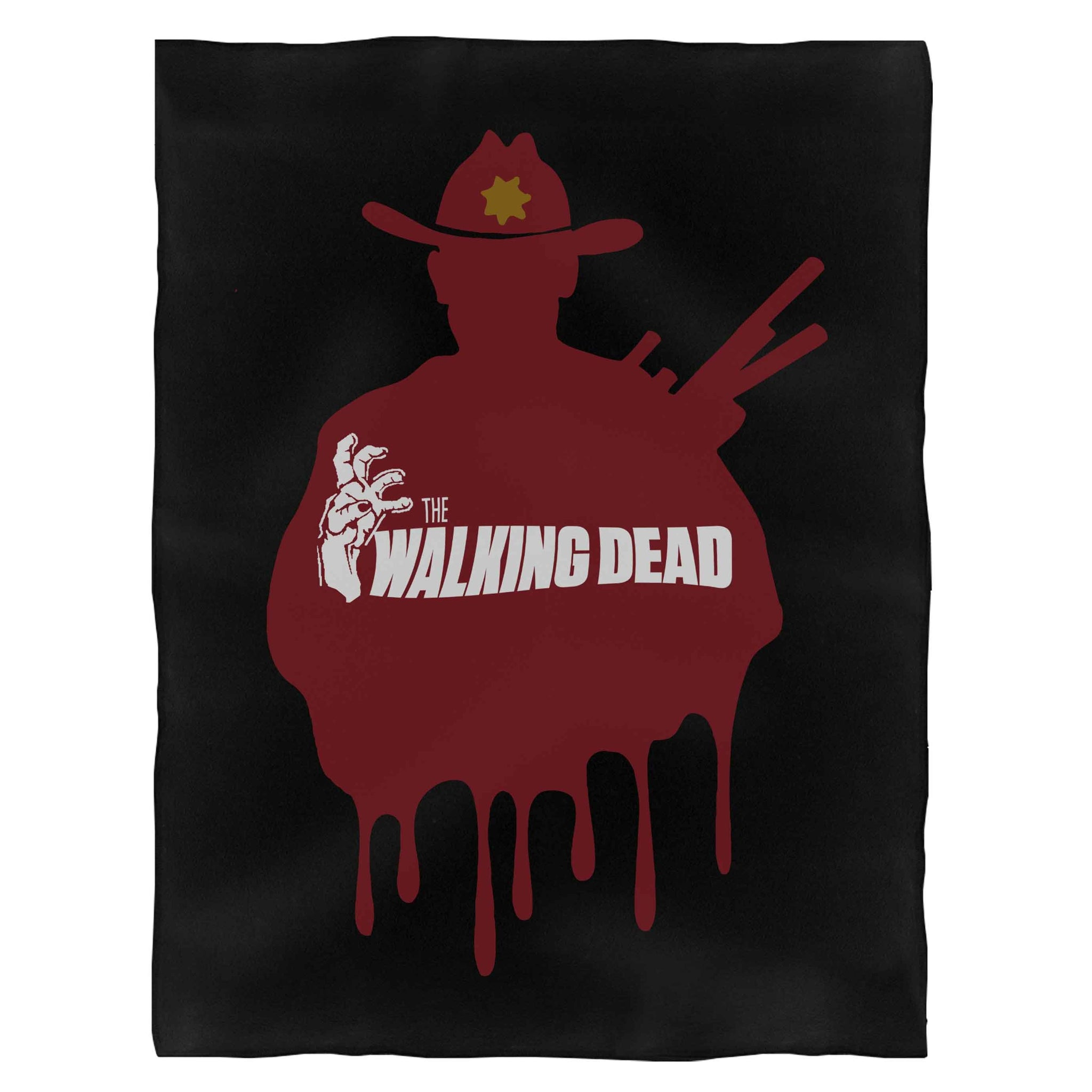 The Walking Dead Art Fleece Blanket