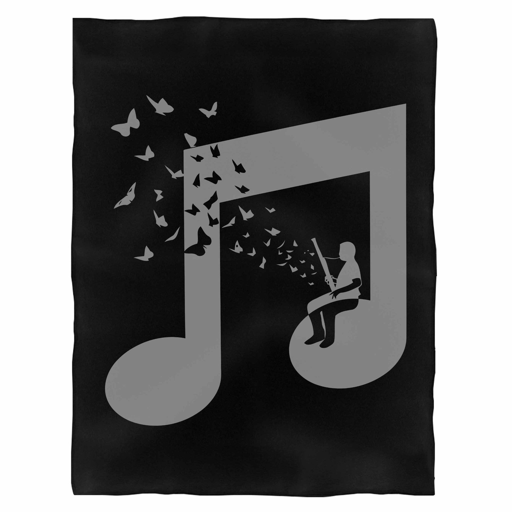 Bassoon Fleece Blanket