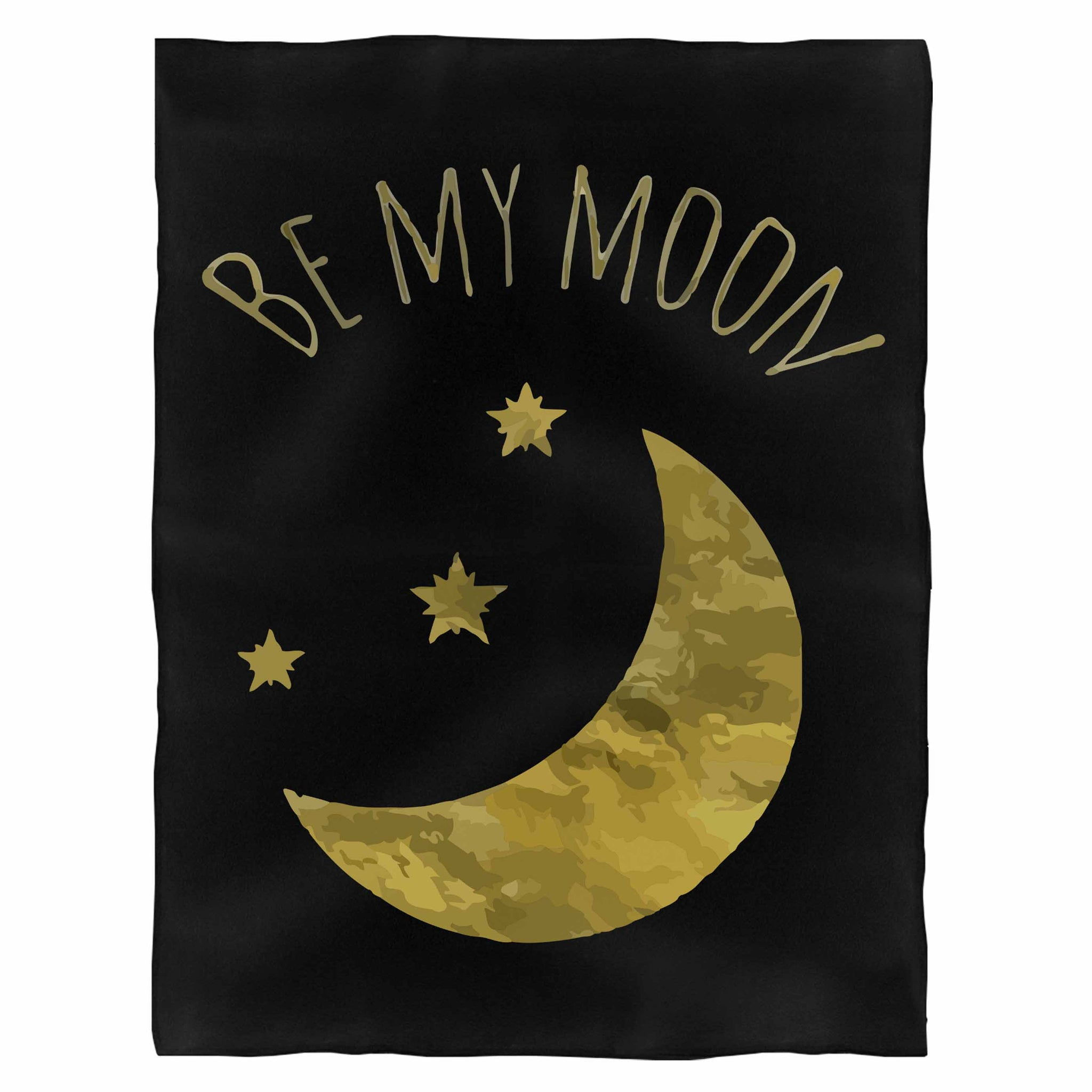 Be My Moon Fleece Blanket