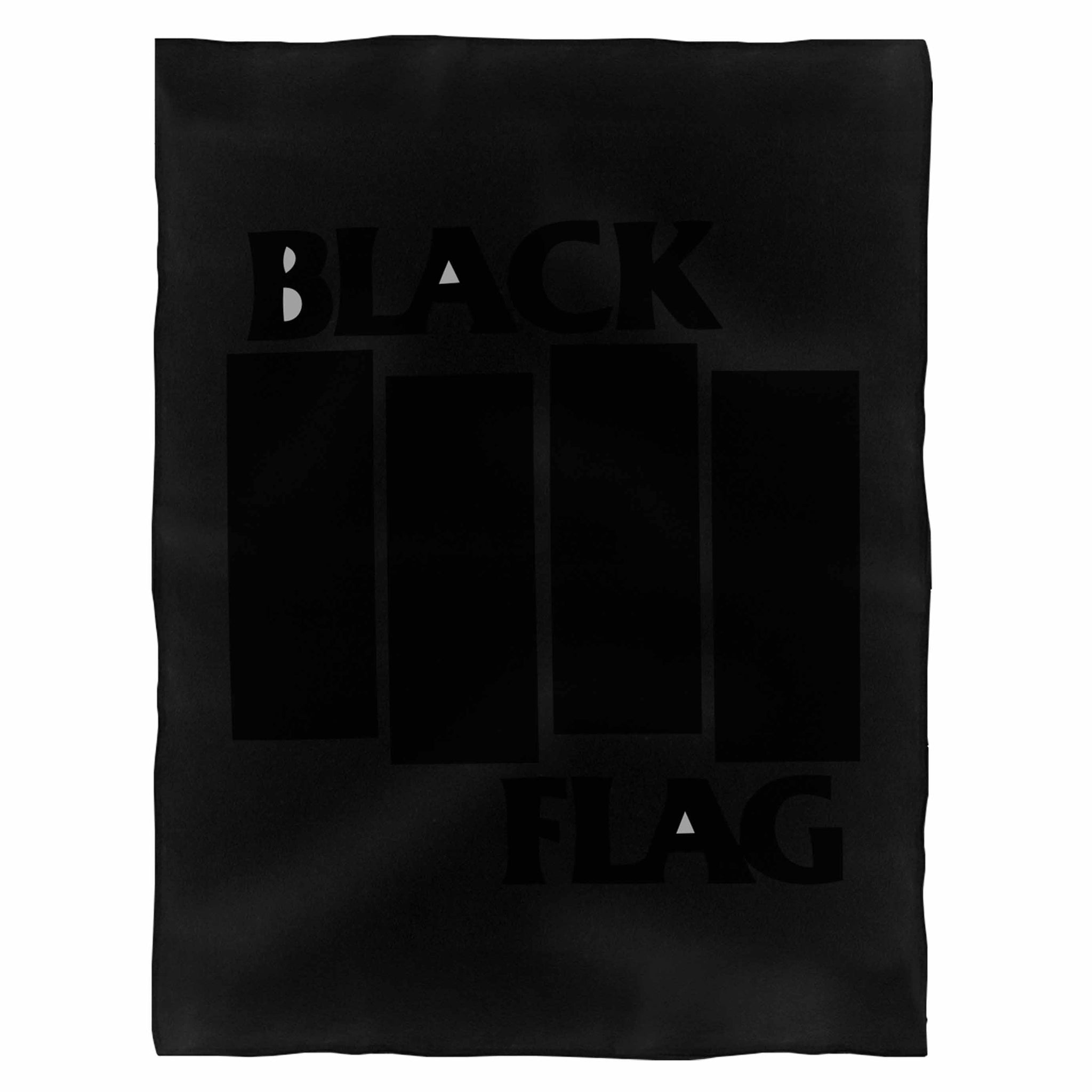Black Punk Fleece Blanket