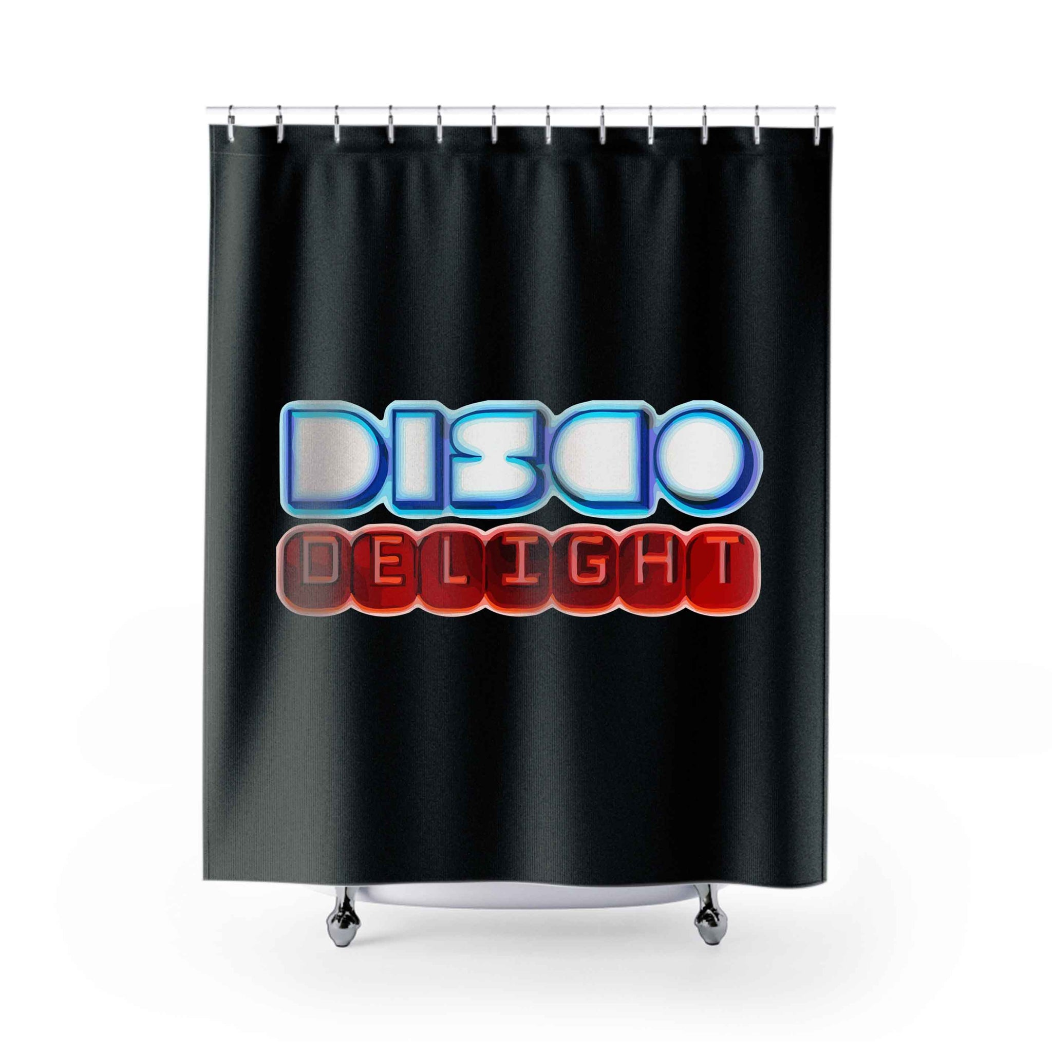 Dico Delight Shower Curtains