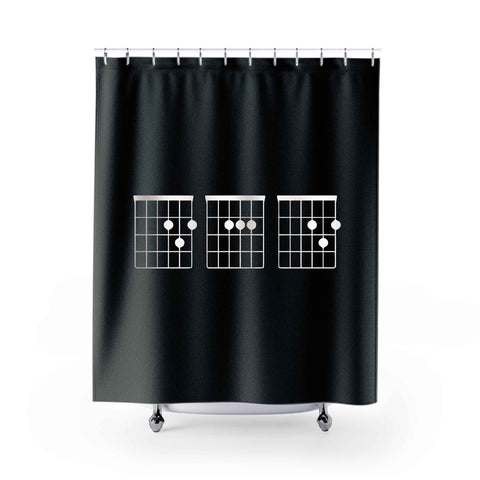 Funny Musician Shower Curtains