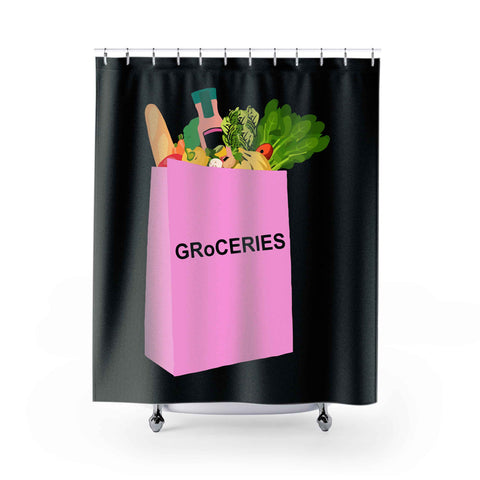 Groceries Shower Curtains