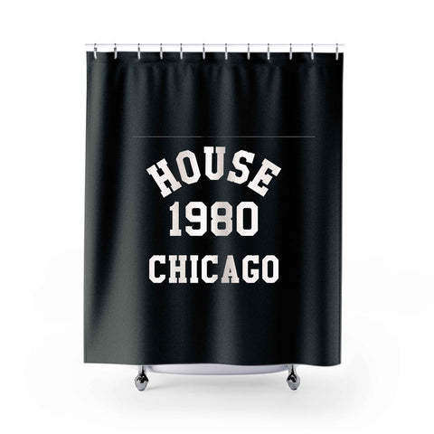 House Music 2 Shower Curtains