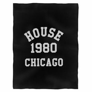 House Music Fleece Blanket