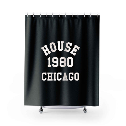 House Music Shower Curtains