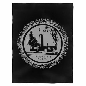 Industrial Music Fleece Blanket