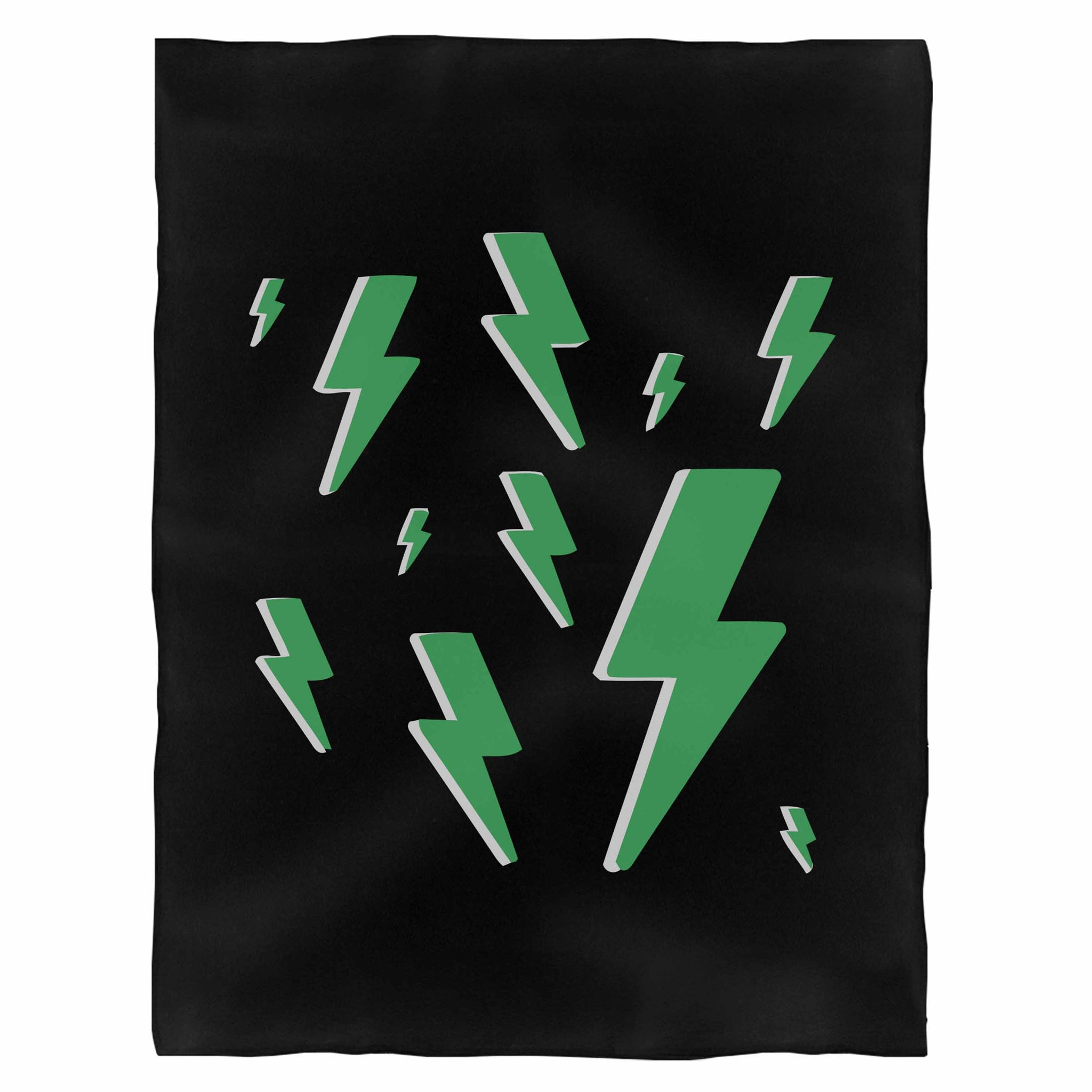 Lightning Bolt Pack Fleece Blanket