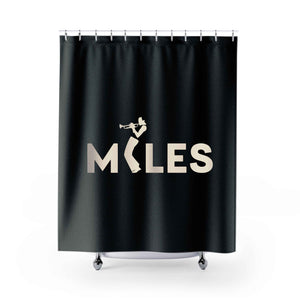Miles Davis Shower Curtains