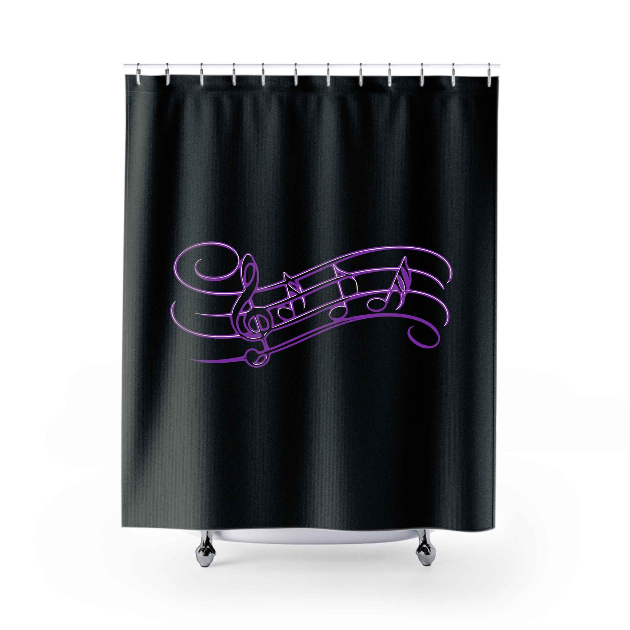 Music Music 2 Shower Curtains
