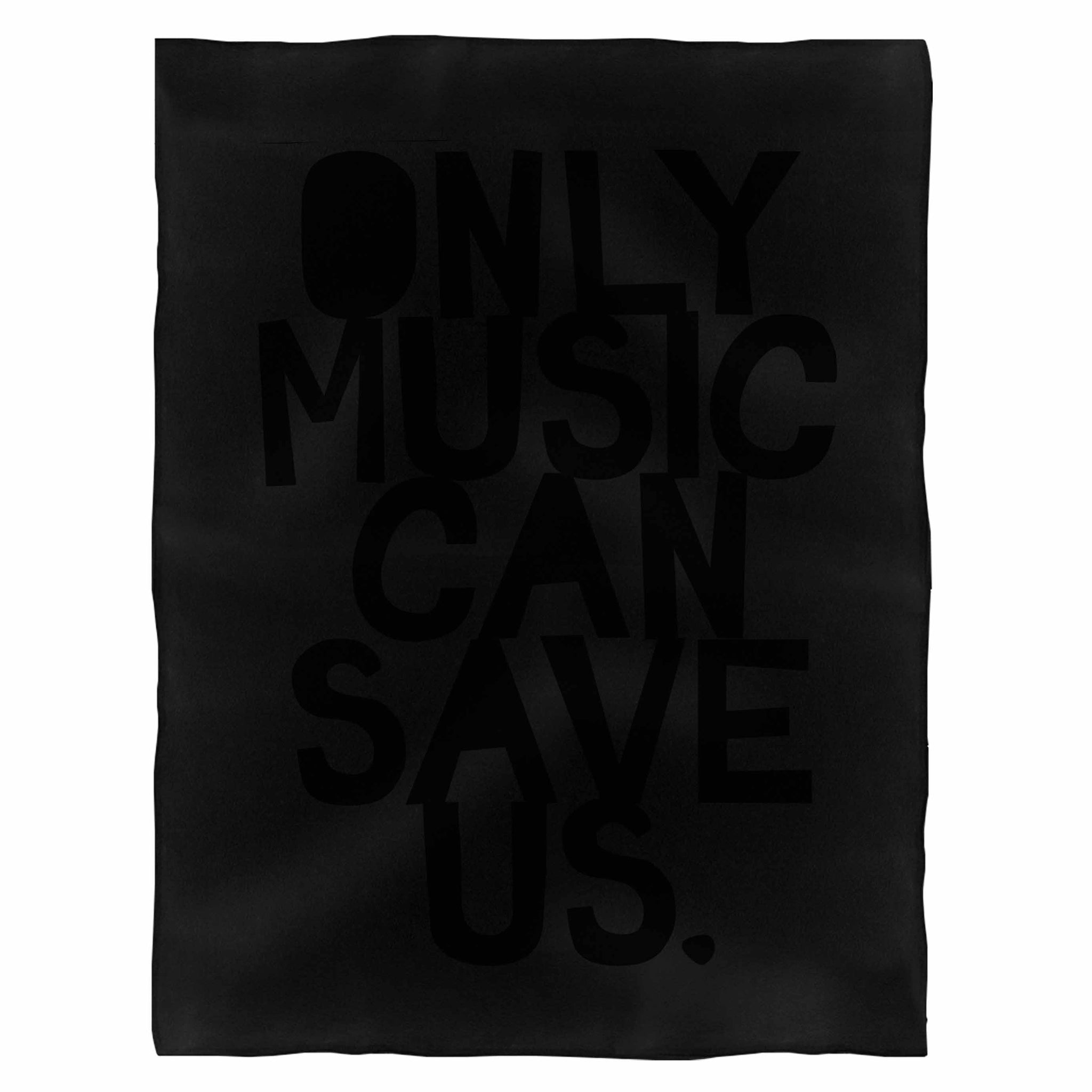 Only Music Can Save Us Fleece Blanket